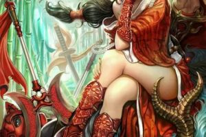 It is your fault! You're wearing red cloak! Let me go! (#sexy)