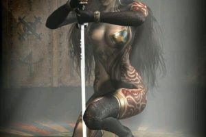 I swear on this sword the hairstylist will pay for it (#sexy)