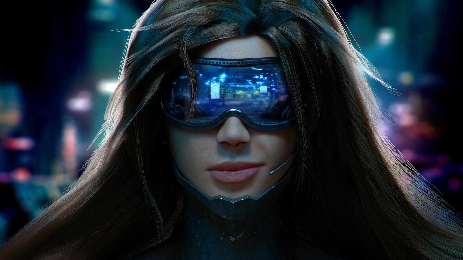 scifi-cyber-girl