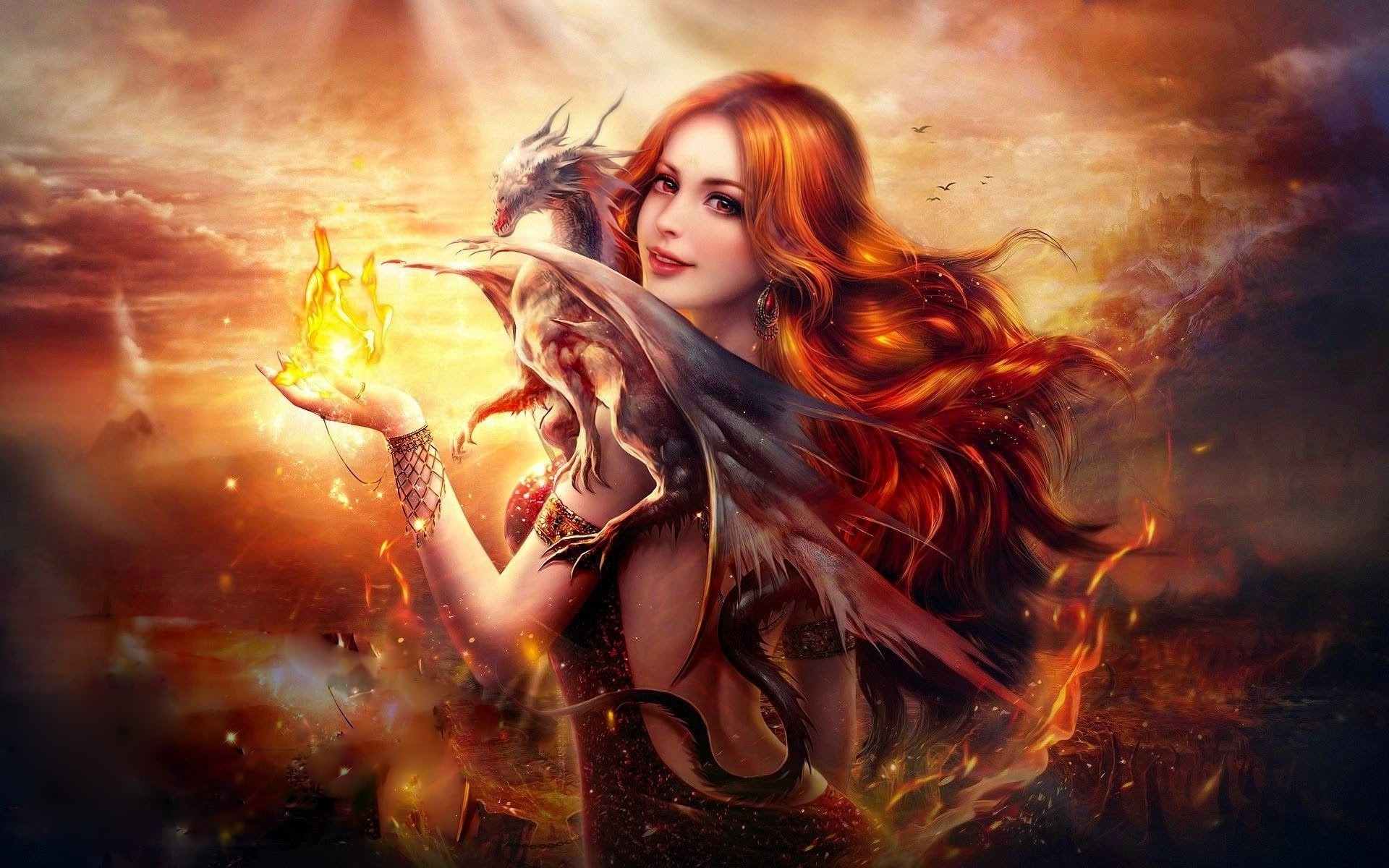 dragon_fire_fantasy_girl-1920x1200
