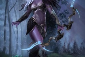 Jen elfka si může vzít na tůru jehly