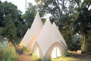 These Striking Teepee-Shaped Huts In Japan Offer Care To The Elderly