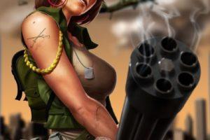 Don't love, make war. Peace. (#sexy)