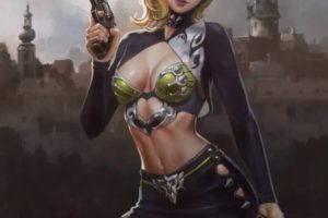 In future we dress like that. And we have guns from the past. (#sexy)